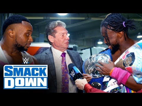 The New Day celebrate five-year anniversary: SmackDown Exclusive, Nov. 29, 2019