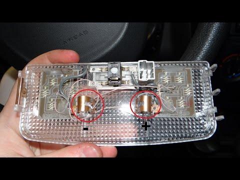 Lada Granta - доработка салонного света + антилужа.