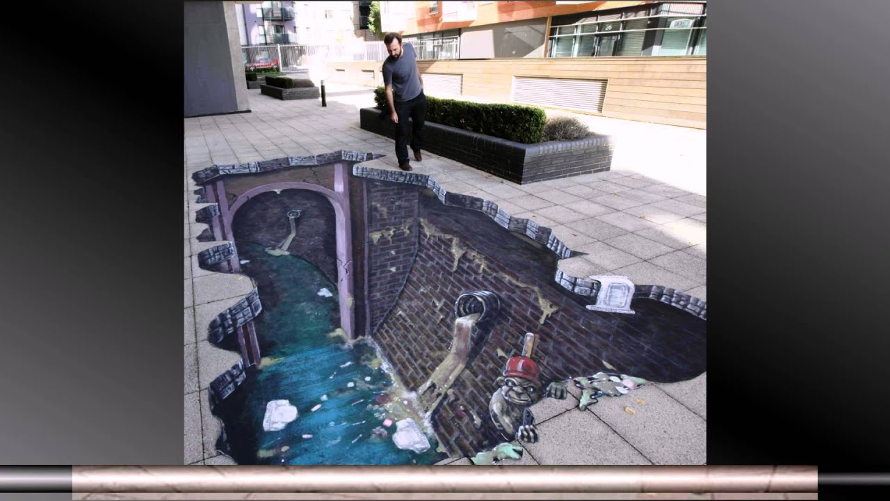 3D street art slideshow HD - YouTube
