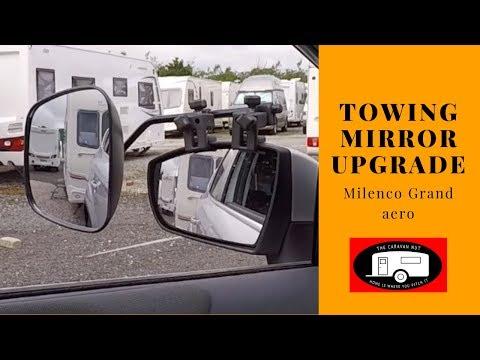 Towing Mirror Upgrade - Milenco Grand Aero