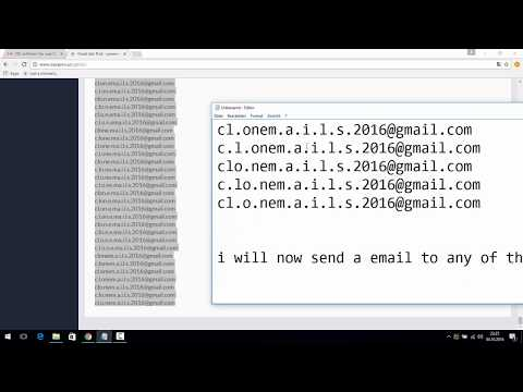 HOW TO CREATE 100 E-MAIL ACCOUNTS IN 1 CLICK [GMAIL] - YouTube