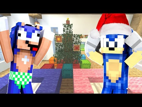 Minecraft Sonic The Hedgehog - Baby Sonic's First Christmas! [87]