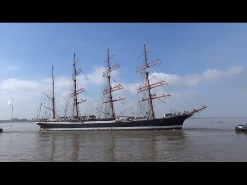 Segelschulschiff SEDOV in Bremerhaven / Седов в Бремерхафен