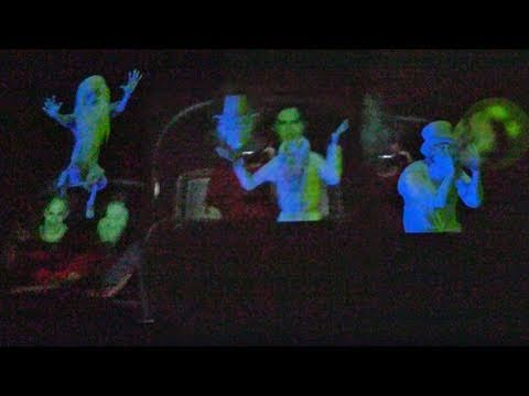 First Look New Haunted Mansion Mirror Effect With