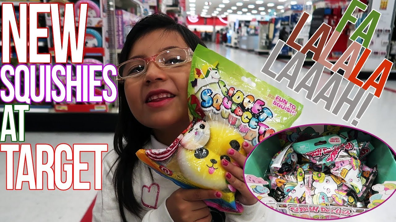 NEW SQUISHIES @ TARGET! SQUISH-DEE-LISH, TAMAGOTCHI, CHRISTMAS SHOPPING & MORE! - YouTube