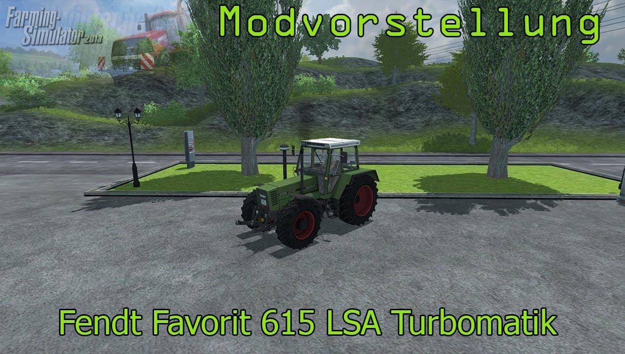 615 lsa turbomatik e landwirtschafts simulator 2013 youtube