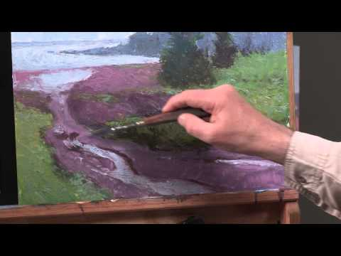 The Secret to Oil Painting Wet-Into-Wet with Michael Chesley Johnson PREVIEW