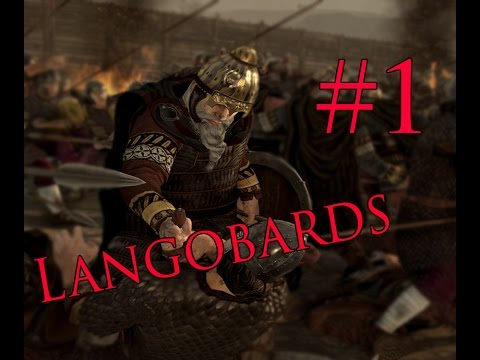 """Total War: Attila - Langobards Campaign #1 ~ """"They made ready for war..""""  """