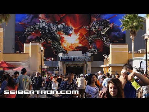 Transformers The Ride 3D at Universal Studios Hollywood Transformers Fan Experience