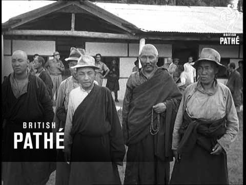 Tibetans Reach Safety  (1959)