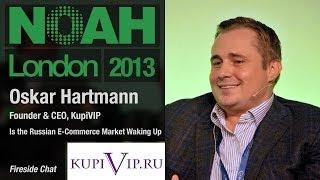 Oskar Hartmann -  Founder & CEO, KupiVIP - NOAH13