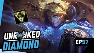 TRINITY FORCE EZREAL Unranked to Diamond Ep 97 (League of Legends)