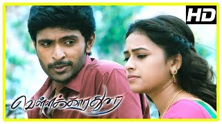 Vellakkara Durai Movie Scenes | Sri Divya reveals her past to Vikram Prabhu | John Vijay | Soori