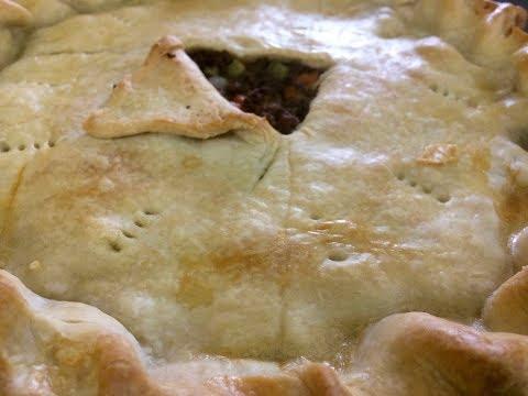 Ground Beef Pastry Pie - Bonita's Kitchen