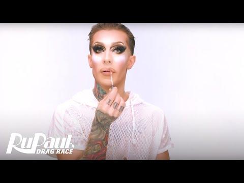 Kameron Michaels' 'Rose Gold Glitter Effect' Makeup Tutorial 💄 | RuPaul's Drag Race Season 10