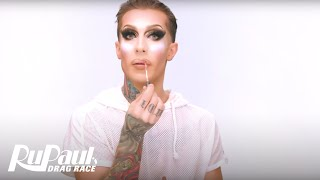Kameron Michaels' 'Rose Gold Glitter Effect' Makeup Tutorial 💄 | RuPaul's Drag Race Season 10