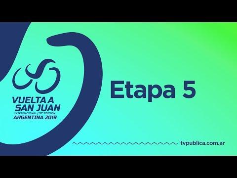 Vuelta a San Juan 2019: Etapa 5