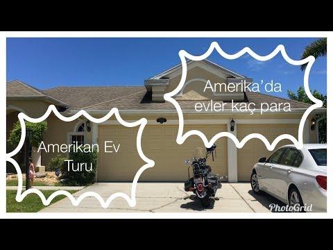 AMERİKA'DA EVLER   Müstakil Ev Turu/Fiyatı (Florida)