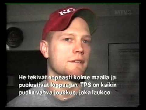 HIFK - Tim Thomas interview 1998