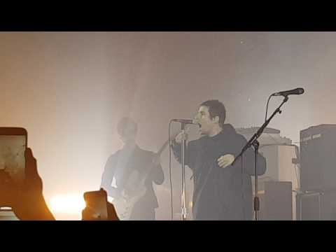 Liam Gallagher @ Manchester Ritz - Walk on and Rock and Roll Star (30/05/17)