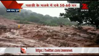 Massive landslide buries Pune