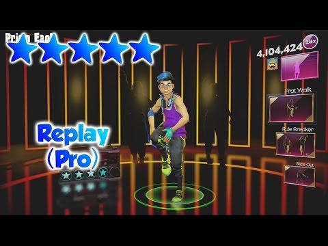 Dance Central Spotlight - Replay (DLC) - Pro Routine - 5 Gold Stars
