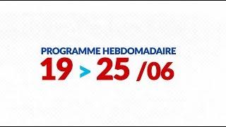 Programme de courses Equipe FDJ - Semaine du 19 au 25 juin
