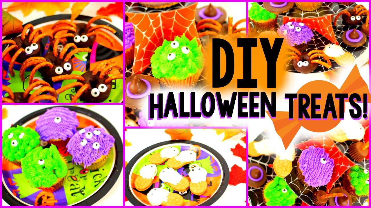 Diy halloween treats easy yummy youtube for Easy fun halloween treats for school