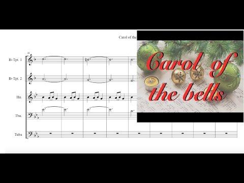 Carol of the Bells Brass Quintet Sheet Music