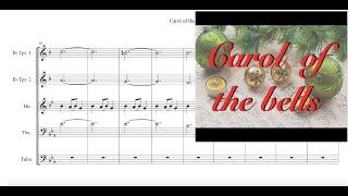Video Carol of the Bells Brass Quintet Sheet Music download MP3, 3GP, MP4, WEBM, AVI, FLV Agustus 2018