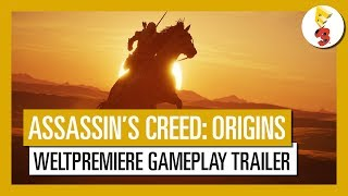 assassin s creed origins e3 2017 weltpremiere gameplay trailer aut