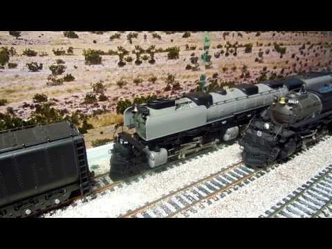 Union Pacific 4006 BigBoy 4-8-8-4 - HO Scale QSI Titan - Motion and Sound
