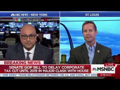 Ali Velshi embarrasses Republican Rodney Davis for using GOP tax plan talking points