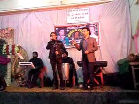 Sonu musical group Aligarh  kumar beju  n sonu Var