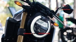Details Honda CB650R 2019 Silver Official | New 2019 Honda CB650R Official