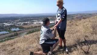 Seahawks Fan Surprises His Girlfriend With A Proposal