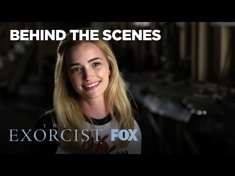 Brianne Howey & Geena Davis Talk About The Rance Daughters  Season 1  THE EXORCIST