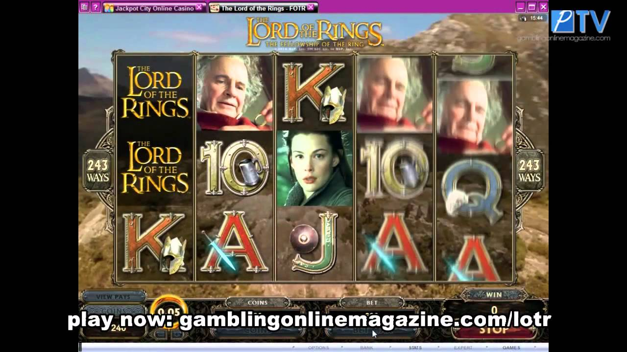 Lord of the rings casino game online riverbend casino iowa