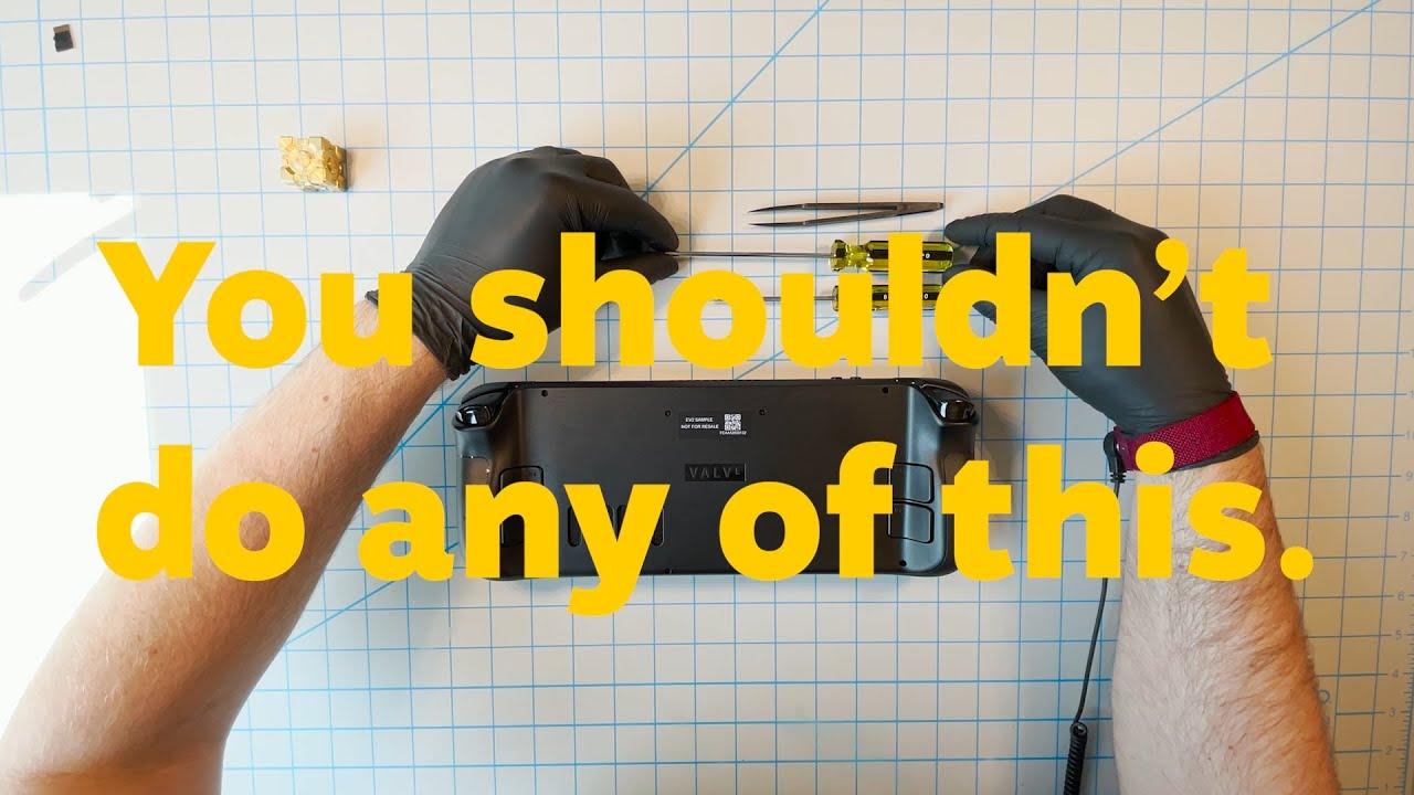 Take a look inside Steam Deck™!
