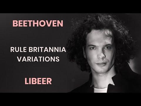 """Julien Libeer plays Beethoven - Five variations on """"Rule Britannia"""""""