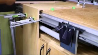 Festool Cabinet Basics: Domino Drawers Part 2 - Cu