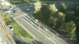 Авария с участием полицейской машины в Зеленограде(, 2016-09-02T08:14:47.000Z)