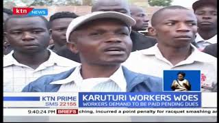Over 2,500 former employees Karuturi flower farm are yet to get their dues