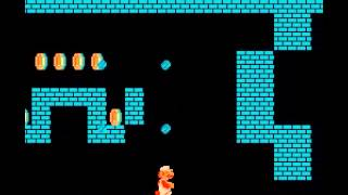 Super Mario Bros - How To Get From 1-2 to 4-1 (Super Mario Bros. NES)-Vizzed.com - User video