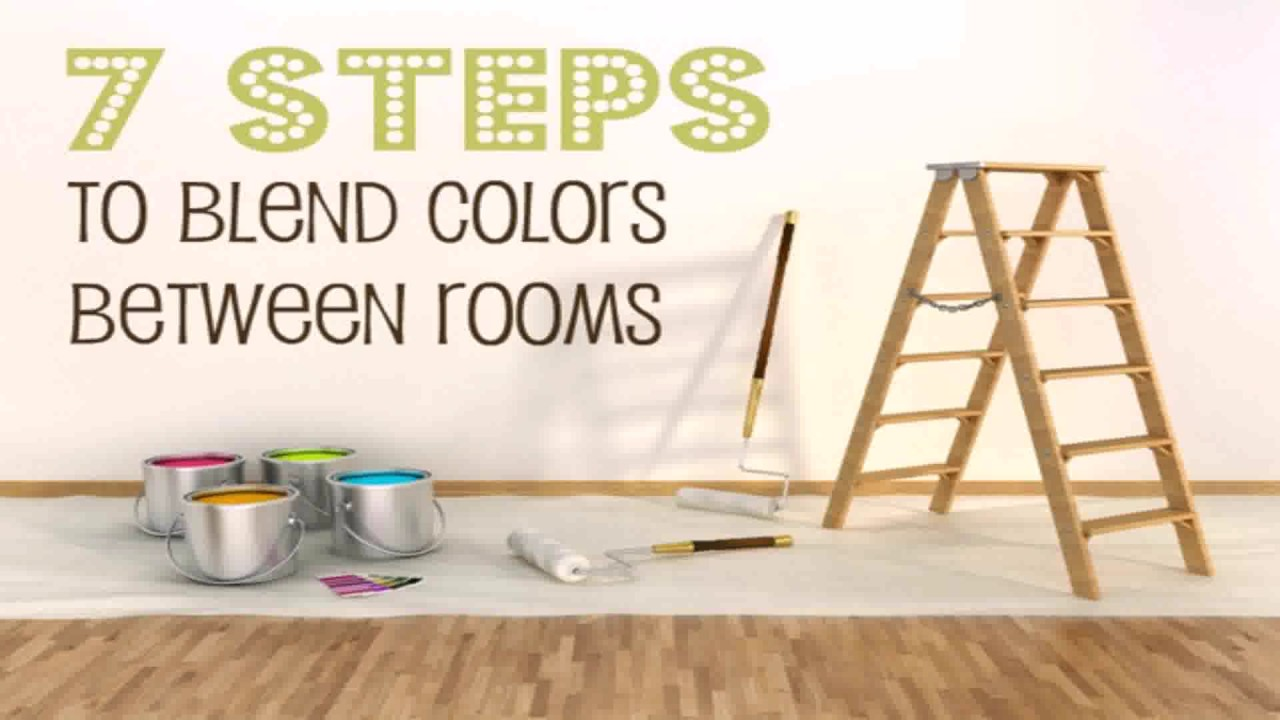Painting Open Floor Plan Ideas Youtube