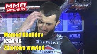 """Mamed Khalidov o złej krwi Narkunem: """"Nieporozumienia są wyłącznie w jego głowie."""""""