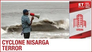 Cyclone Nisarge grips western coast, High tide in Mumbai