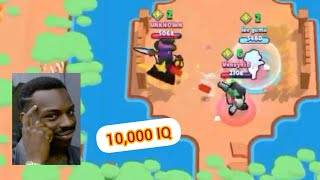 10,000 IQ Brawl star plays |Best plays of 2019|Pro gameplay |10 and 100 IQ PLAYS