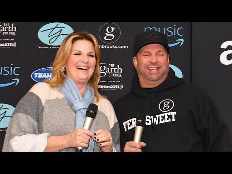 RAW: Garth Brooks & Trisha Yearwood Media Availability
