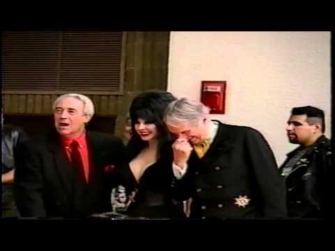 Elvira, John Zacherley & James Karen